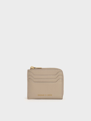 Charles & Keith Zip Around Card Holder