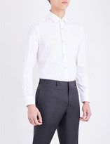 Paul Smith Mens White Buttoned Comfortable Shirt