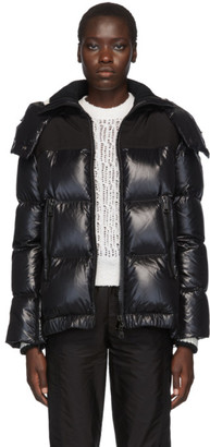 Moncler Black Wouri Hooded Down Jacket