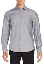 Calvin Klein Slim-Fit Printed Sportshirt
