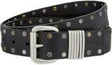 Diesel B-done Stud Detail Leather Belt