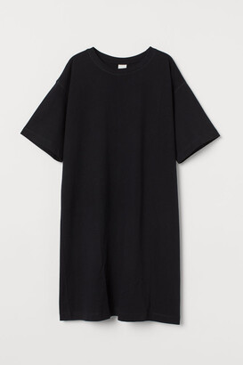 H&M Jersey T-shirt Dress - Black
