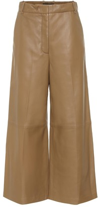 Joseph Tuba wide-leg leather pants
