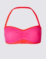 M&S Collection Colour Block Bandeau Bikini Top