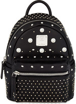 MCM Stark special bebe-boo leather backpack