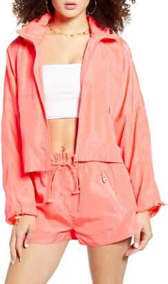 Blank NYC Packable Nylon Jacket