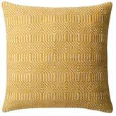 Loloi Rugs Dset Pillow Cover With Down, Yellow