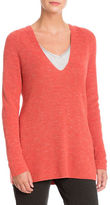 Nic+Zoe Textured Long Sleeve Pullover