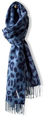 Mark & Graham Leopard Print Blanket Scarf