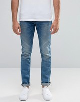 Blend of America Jet Slim Jeans Light Vintage Blue