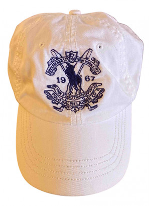 Polo Ralph Lauren White Cotton Hats & pull on hats