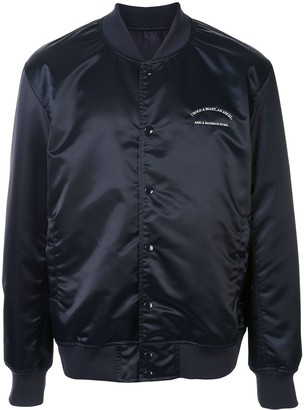 Undercover Embroidered Script Bomber Jacket