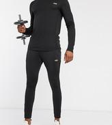 Asos 4505 4505 Tall super skinny training jogger in black