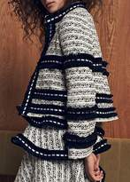 Alexis Federikka Jacket Black White Tweed
