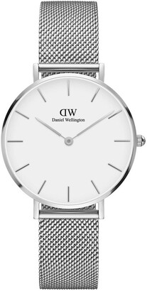 Daniel Wellington Petite Sterling 32mm Silver Watch