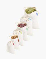 Madewell Colony Co. Six-Pack Assorted Reusable Bulk Food Bags