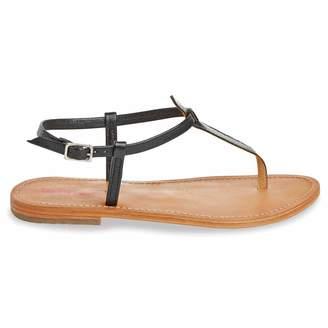 Les Tropéziennes Narvil Leather Flat Sandals