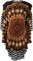 Givenchy 'Kaleido Eye' printed top - women - Silk/Viscose/Wool - 36