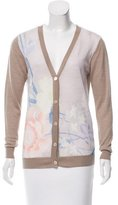 Dries Van Noten Printed Button-Up Cardigan