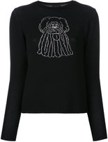 G.V.G.V. cartoon jumper - women - Cotton/Polyester/Rayon - XS