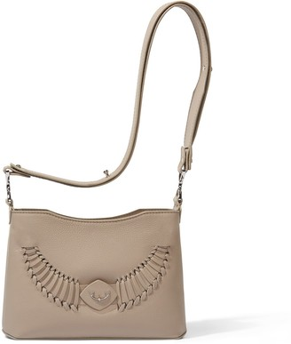 Yiy Drop Minibag & Crossbody Personalizable In Antler Taupe