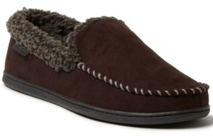 Dearfoams Men's Moccasin Slippers Men's Shoes