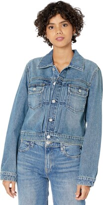 Hudson Hudson's Shrunken Trucker Denim Jacket