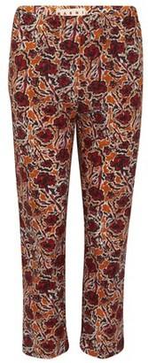Marni Flower print pants