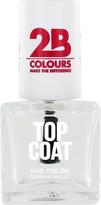 2B Colours Top Coat Nail Polish
