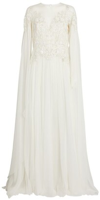 ZUHAIR MURAD Silk Embellished Gown
