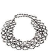 Kenneth Jay Lane Crystal Lace Choker Necklace