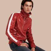 Burberry Sequin Track Jacket