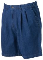 Croft & Barrow Big & Tall Classic-Fit Denim Flex-Waist Shorts
