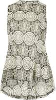 Izabel London Retro Print Sixties Top