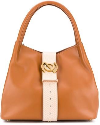 Zanellato Logo Detailed Tote Bag