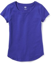 Old Navy Fitted Scoop-Neck Tee for Girls