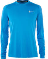 Nike Running Miler Mesh-Panelled Dri-Fit Running T-Shirt