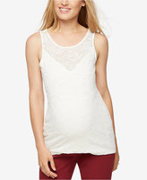 A Pea in the Pod Maternity Lace Tank Top