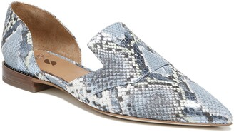 Franco Sarto Toby Pointed Toe d'Orsay Loafer