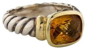 David Yurman Citrine Noblesse Ring