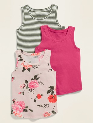 Old Navy Jersey Tank Top 3-Pack for Toddler Girls