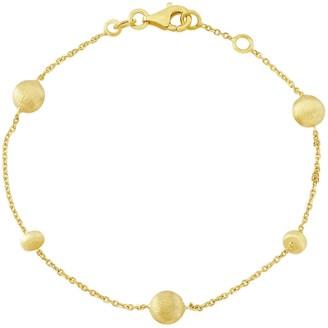 Auree Jewellery Garda Yellow Gold Nugget Bracelet
