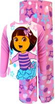 WebUndies.com Dora the Explorer Dancing with the Stars Toddler Pajama Set for Little Girls