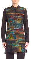 Akris Punto Northern Lights Printed Tunic