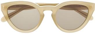 Mulberry Blondie round cat-eye sunglasses