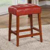 HomePop Tufted Counter Stool