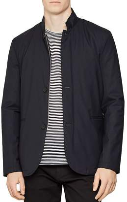 Reiss Faulkner Lightweight Funnel Collar Jacket