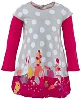 Catimini Animal And Spot Print Dress
