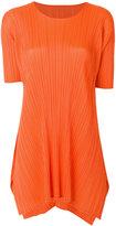 Pleats Please By Issey Miyake asymmetric blouse