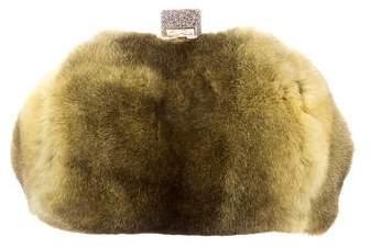 Edie Parker Fur Small Parker Bag w/ Tags